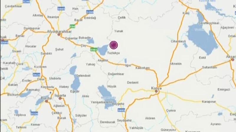 Konya'da 4,7 büyüklüğünde deprem!
