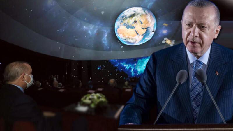 Cumhurbaşkanı Recep Tayyip Erdoğan, Milli Uzay Programı Tanıtım Toplantısında konuştu