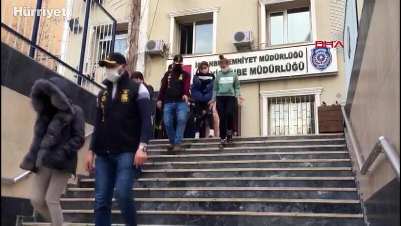İstanbul'da fuhuş operasyonu; 27 kişi gözaltına alındı