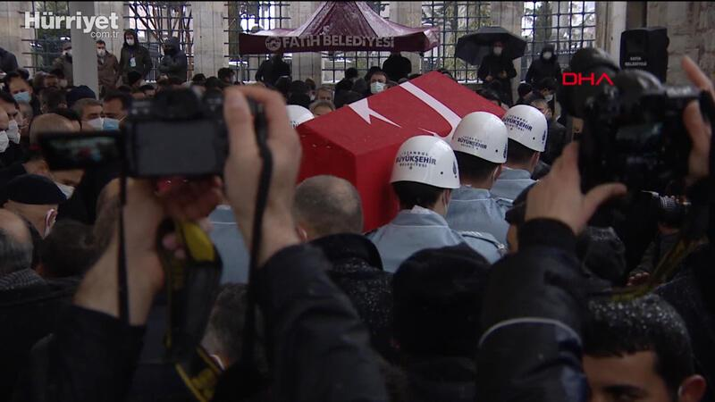Kadir Topbaş için cenaze töreni düzenlendi