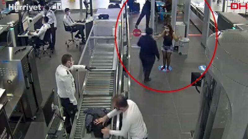 Terör şüphelisi kadın, kız kardeşinin pasaportuyla havalimanında yakalandı