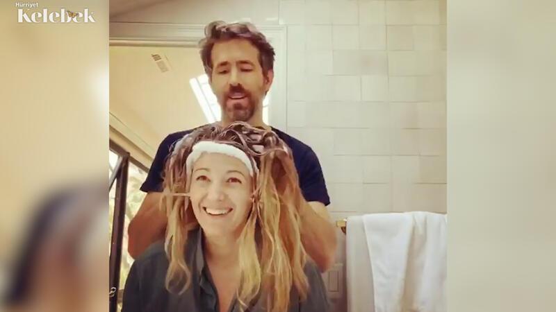 Aşk bazen onun saçını boyamaktır!