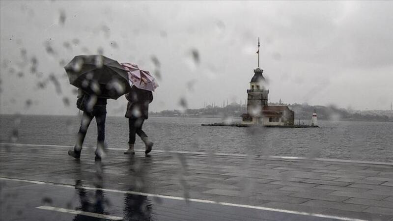 Meteoroloji'den Marmara Bölgesi'nde fırtına uyarısı