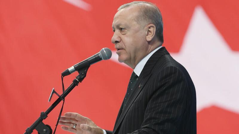 Cumhurbaşkanı Recep Tayyip Erdoğan, partisinin Trabzon 7. Olağan İl Kongresi'nde konuştu