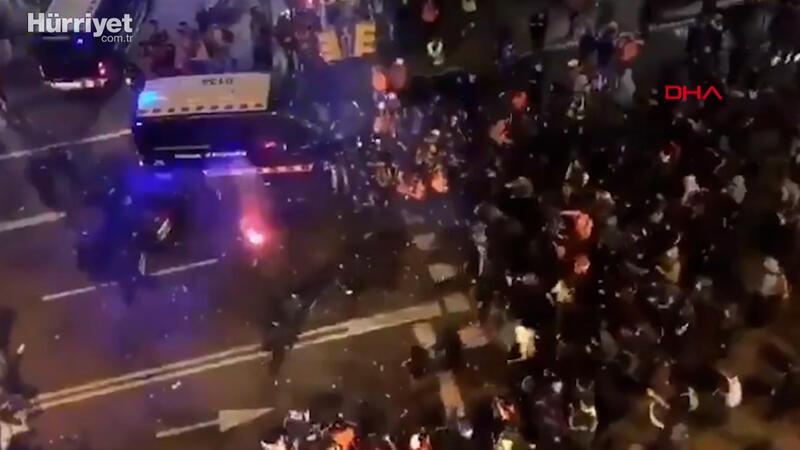 Rapçi Pablo Hasel'in tutuklanmasına karşı binlerce kişi sokağa döküldü