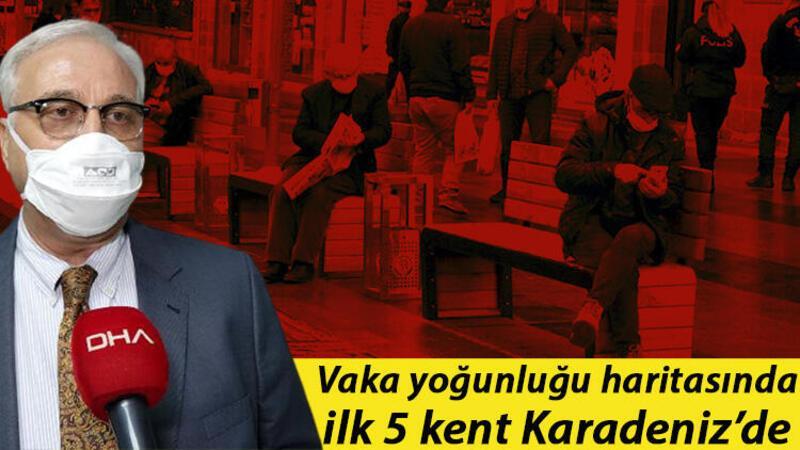 Prof. Dr. Özlü: Karadeniz'de vakalar aile içi ziyaretler ve cenaze taziye ziyaretlerinde artıyor
