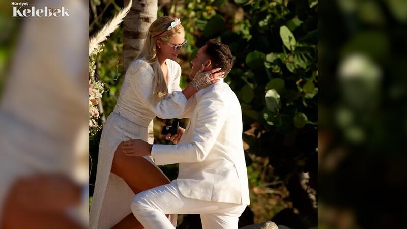 Paris Hilton dördüncü kez nişanlandı: Carter Reum diz çöküp elmas yüzük hediye etti