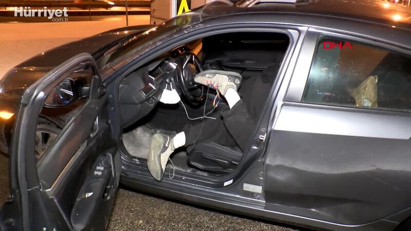Kaza yapıp hareketsiz yatan sürücünün uyuşturucu komasına girdiği belirlendi