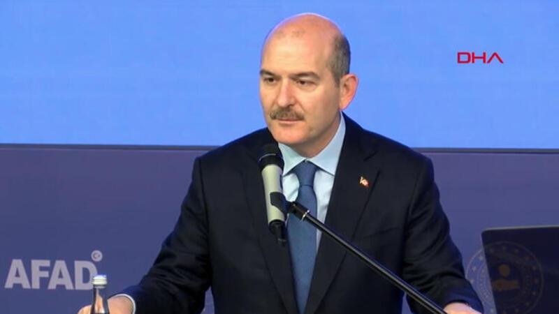 İçişleri Bakanı Süleyman Soylu, Afet Eğitim Yılı Bakanlıklar Arası İşbirliği Protokolü İmza Töreninde konuştu