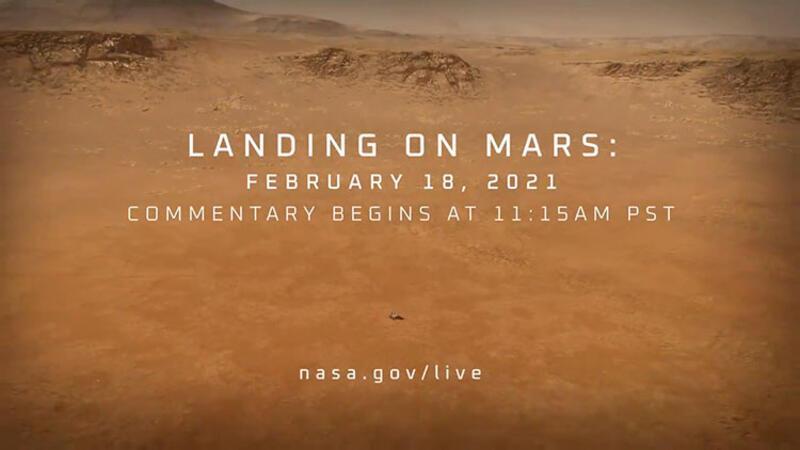 NASA, Perseverance için tanıtım filmi yayınladı