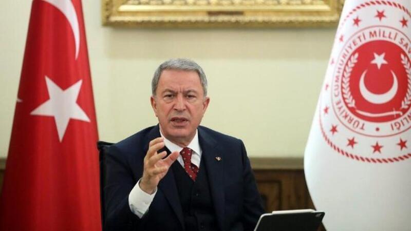 Milli Savunma Bakanı Hulusi Akar'dan Gara mesajı