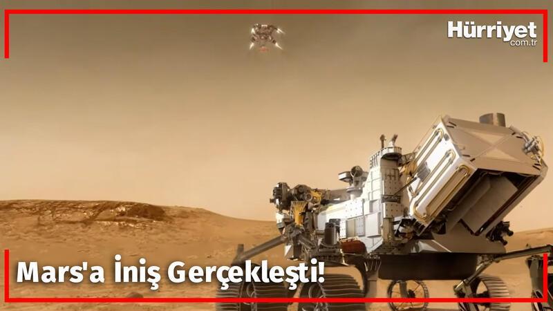 Mars'a İniş Gerçekleşti! Hayat Belirtisi Bulunacak mı?
