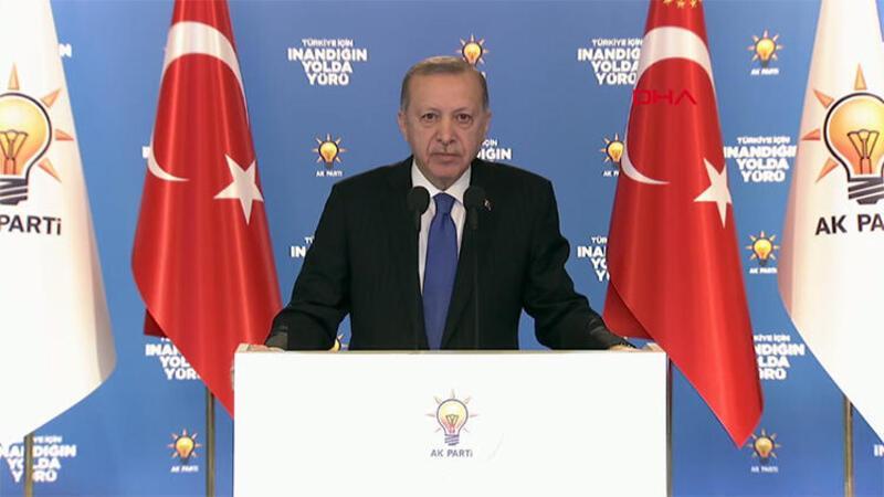 Cumhurbaşkanı Erdoğan, partisinin 7 ildeki Kadın Kolları 6. Olağan Kongresi'nde açıklamalarda bulundu