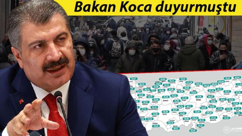 Oransal olarak en fazla vakanın görüldüğü Trabzon'da yeni yasaklar geldi