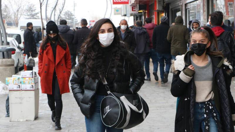 Türkiye'de vaka sayısı en az olan ikinci il Hakkari