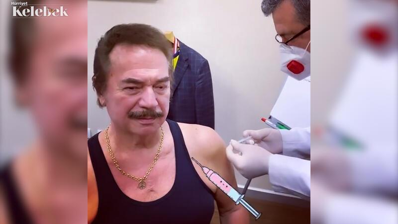 Orhan Baba aşı oldu