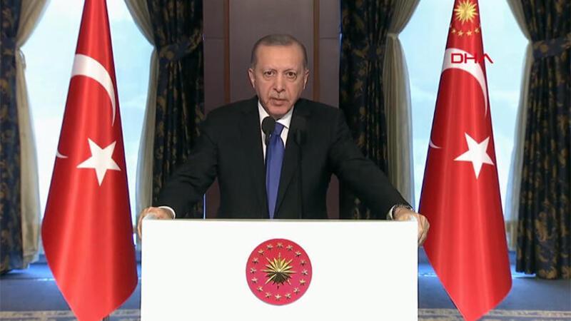 Cumhurbaşkanı Erdoğan, Adana Stadyumu'nun açılışına video konferansla bağlanarak konuşma yaptı