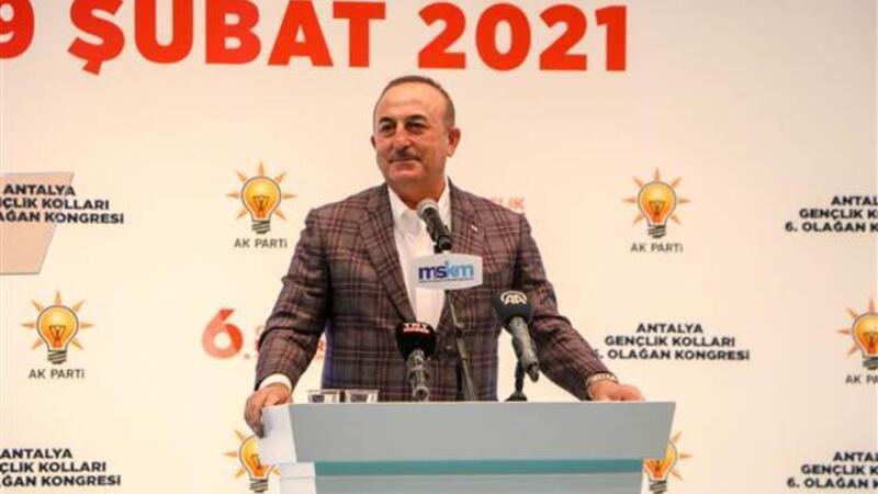 Bakan Çavuşoğlu, AK Parti Antalya Gençlik Kolları 6. Olağan Kongresine katıldı