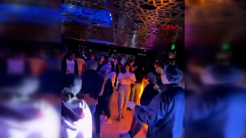 Antalya'da diskoda tepki çeken 'korona' partisi