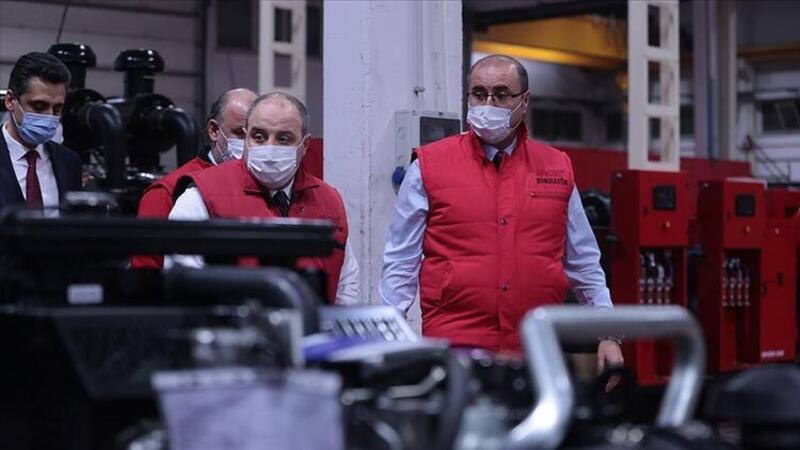 Bakan Varank, Arken Jeneratör'ün fabrikasını ziyaret etti