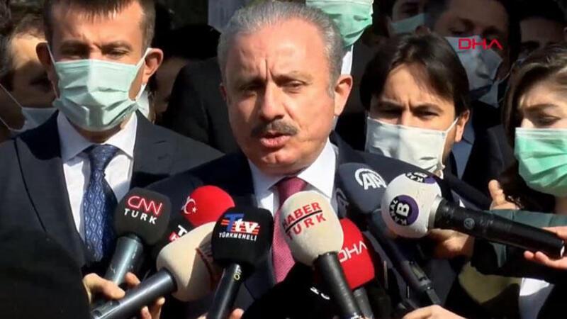 TBMM Başkanı Mustafa Şentop gazetecilerin sorularını yanıtladı