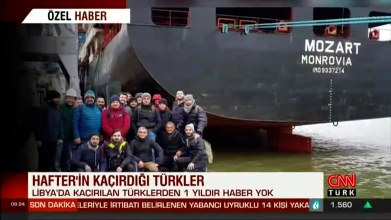 Hafter'in kaçırdığı Türklerden 1 yıldır haber alınamıyor