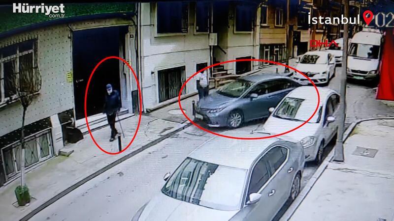 Şişli'de fren yerine gaza basan sürücü, kaldırımda yürüyen yaşlı adama çarptı