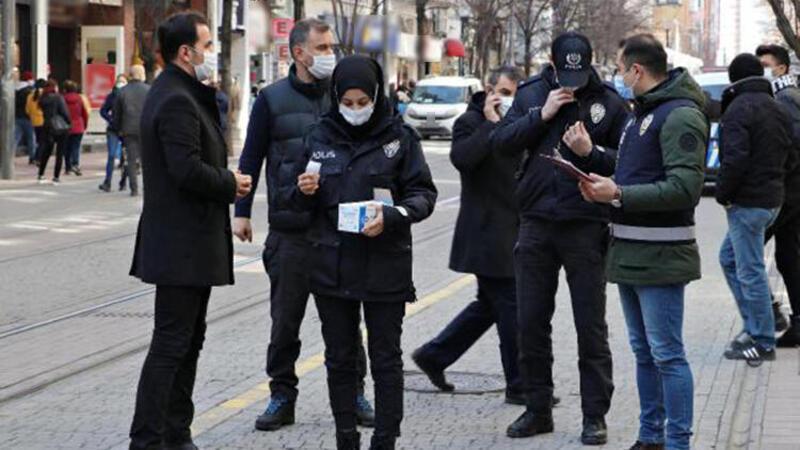 Eskişehir'de koronavirüs denetimleri artırıldı