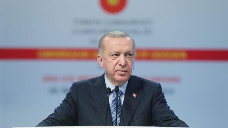 """Cumhurbaşkanı Erdoğan, """"Göç: Önümüzdeki Yirmi Yılın Projeksiyonu ve Ötesi"""" konferansına katıldı"""