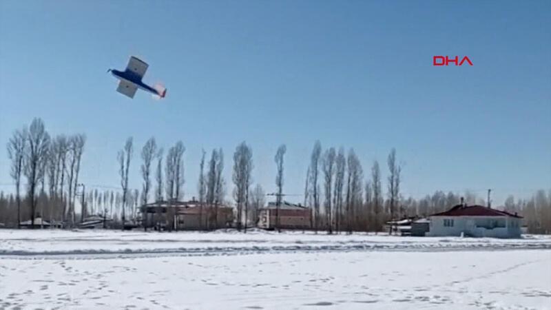 Model uçak yapıp, 20 dakika uçurdular... Kız öğrencilerden büyük başarı!