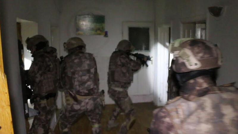 Samsun merkezli organize suç örgütü operasyonunda 57 gözaltı