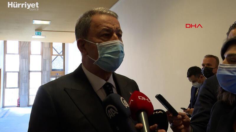 """Milli Savunma Bakanı Hulusi Akar: """"Yunanistan'ın bu hareketine karşılık verildi"""""""