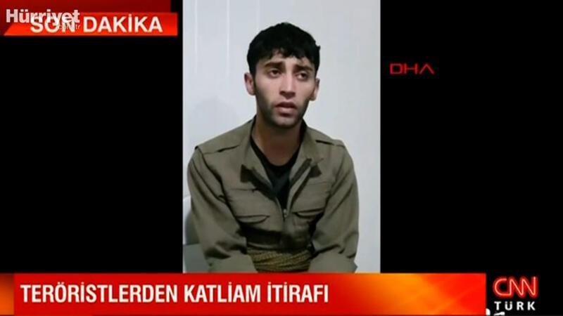 Gara'da yakalanan teröristten katliam itirafı
