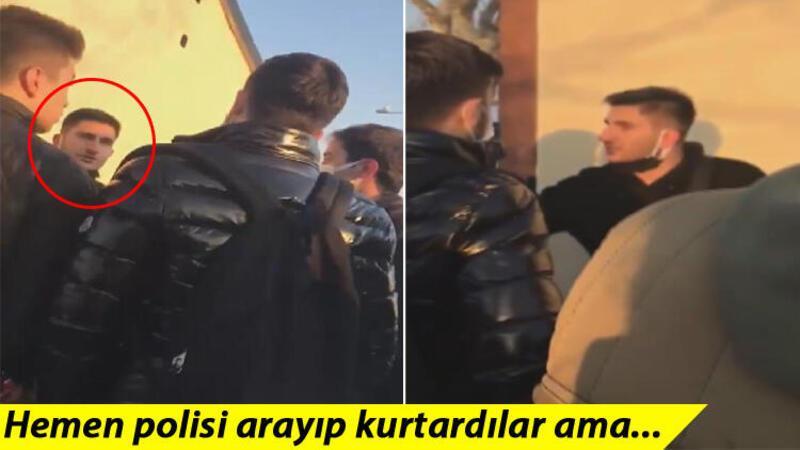 Kadıköy'de genç kıza darp iddiası; vatandaşlar müdahale etmek istedi