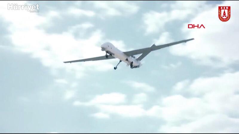 2 ANKA Silahlı İnsansız Hava Aracı Deniz Kuvvetleri Komutanlığı'na teslim edildi