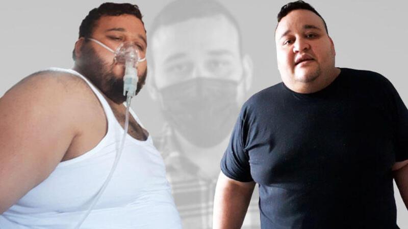 202 kilogramdı, 102 kilogram vererek sağlığına kavuştu