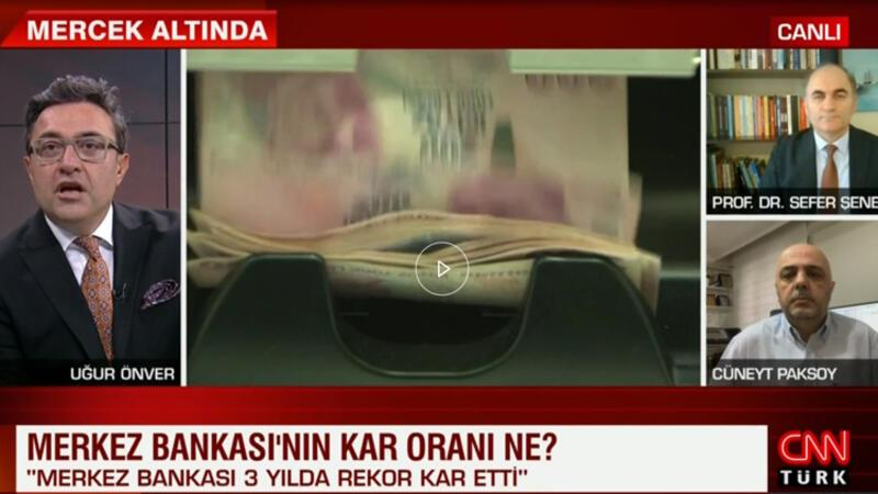 Merkez Bankası'nın kârı 3 yılda 10 kat arttı