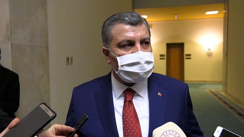 Sağlık Bakanı Dr. Fahrettin Koca, parlamento muhabirlerinin sorularını yanıtladı