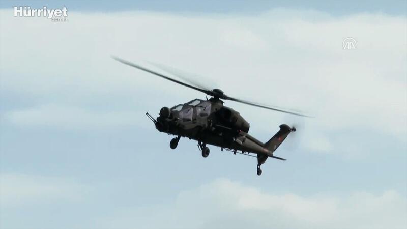 Emniyet Genel Müdürlüğü'nün ilk Atak helikopteri teslim edildi