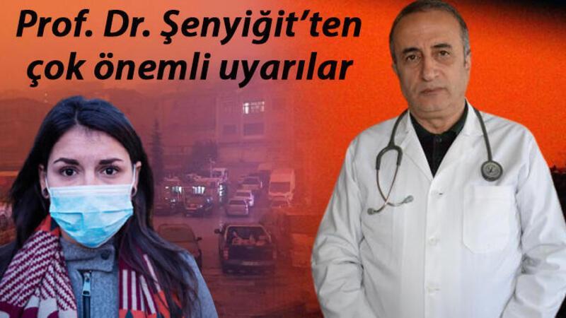 Prof. Dr. Abdurrahman Şenyiğit'ten çöl tozu uyarısı