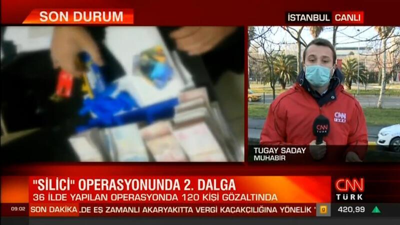 İstanbul merkezli 36 ilde 'Silici 2' operasyonu yapıldı