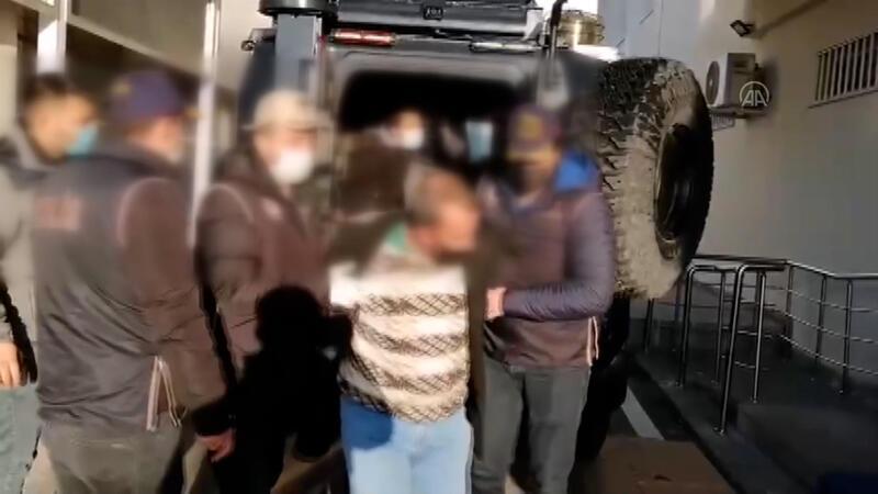 Başkentte terör örgütü DEAŞ mensubu 7 yabancı uyruklu hakkında gözaltı kararı