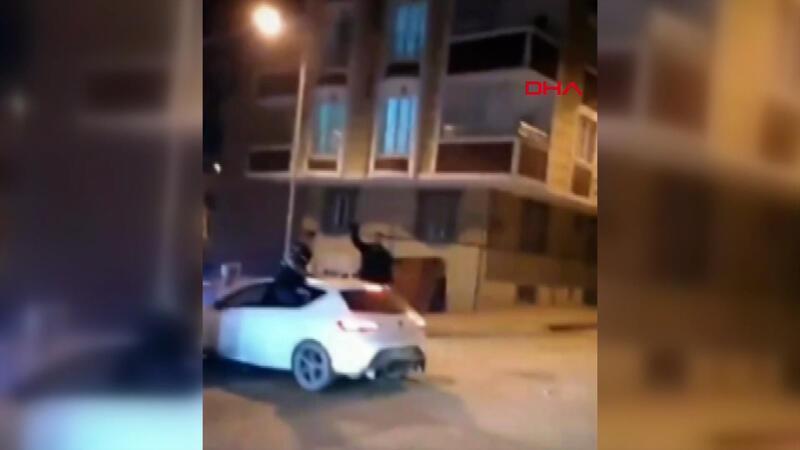Asker eğlencesinde havaya ateş açan kişi gözaltına alındı