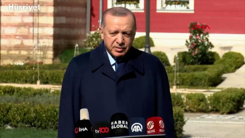 Cumhurbaşkanı Erdoğan, gazetecilerin sorularını yanıtladı