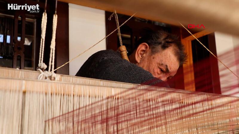 81 yaşındaki dokuma ustası, 67 yıldır ipliğe hayat veriyor