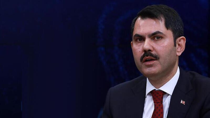 Çevre ve Şehircilik Bakanı Murat Kurum'dan Kanal İstanbul açıklaması