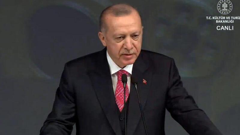 Cumhurbaşkanı Erdoğan Atlas Sineması ile İstanbul Sinema Müzesi'nin açılışında açıklamalarda bulundu