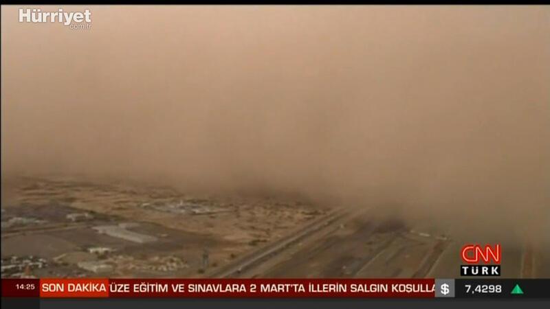Çöl tozları Türkiye'de ne kadar etkili olacak?
