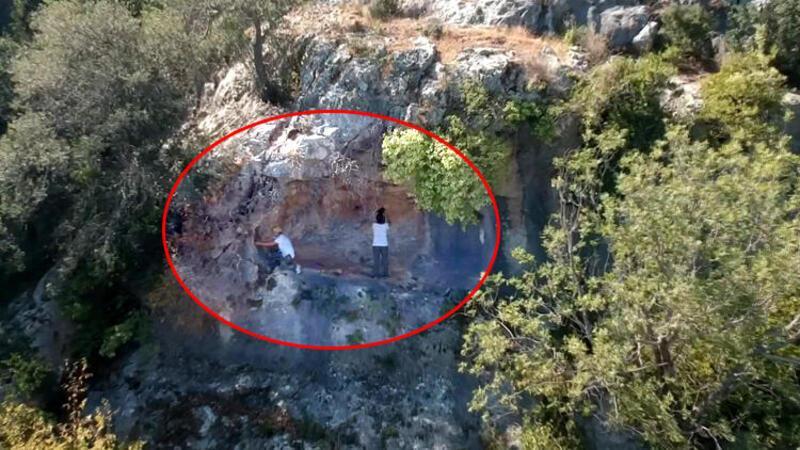Mersin'de 8 bin yıllık kaya resimleri bulundu