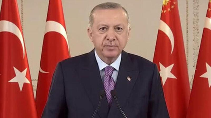 Cumhurbaşkanı Erdoğan, Kızılcahamam-Çerkeş tüneli açılış törenine canlı bağlantı ile katıldı